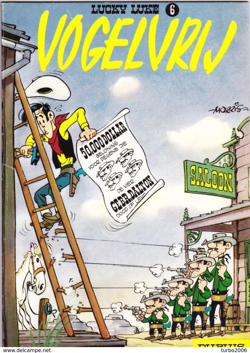 LUCKY LUKE Stripboeken 5 Verschillende Delen : 1-2-5-6-IX Zie Scans Voor- En Achterzijde ! - Lucky Luke