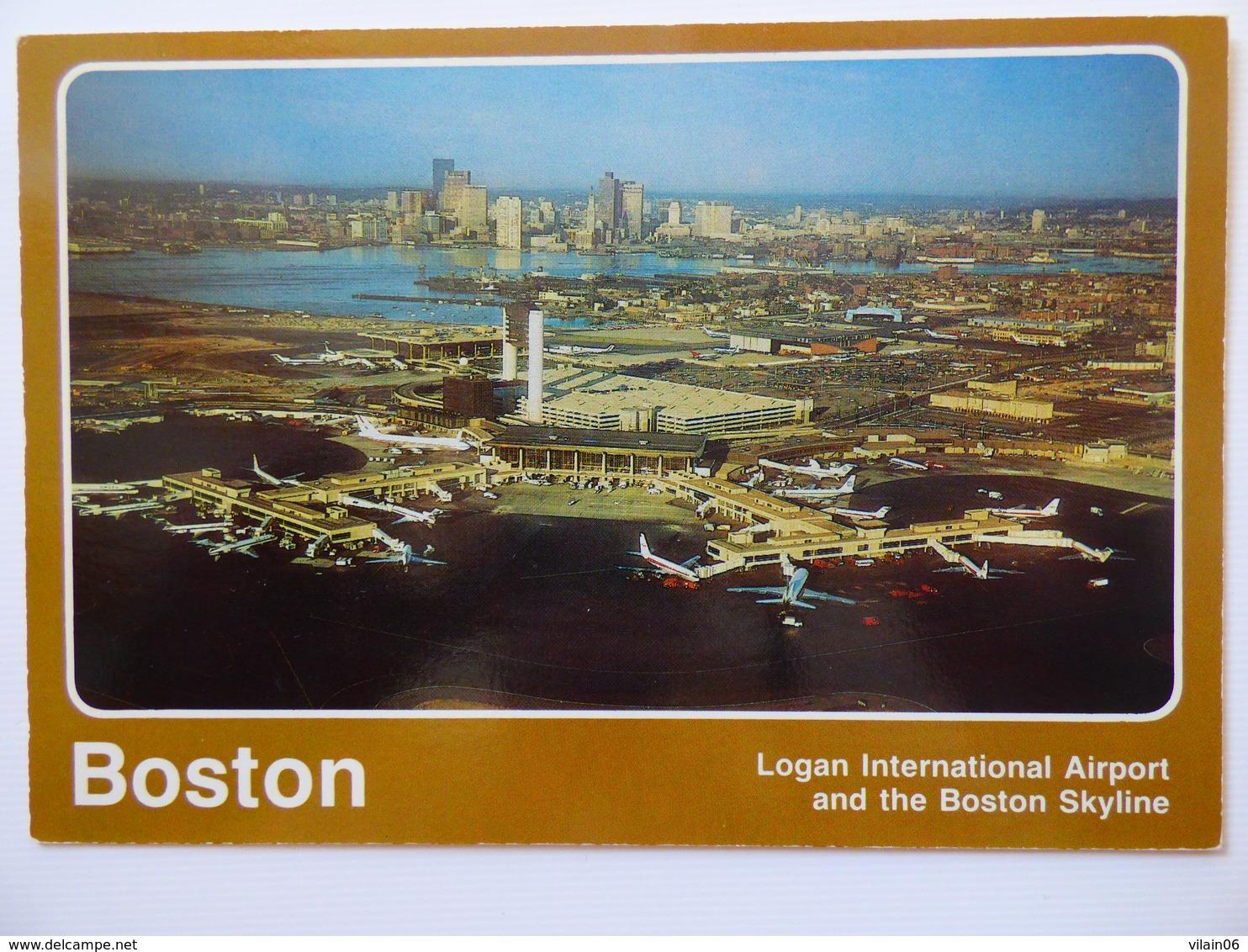 AIRPORT / FLUGHAFEN / AEROPORT     BOSTON LOGAN  INTERNATIONAL - Aeródromos