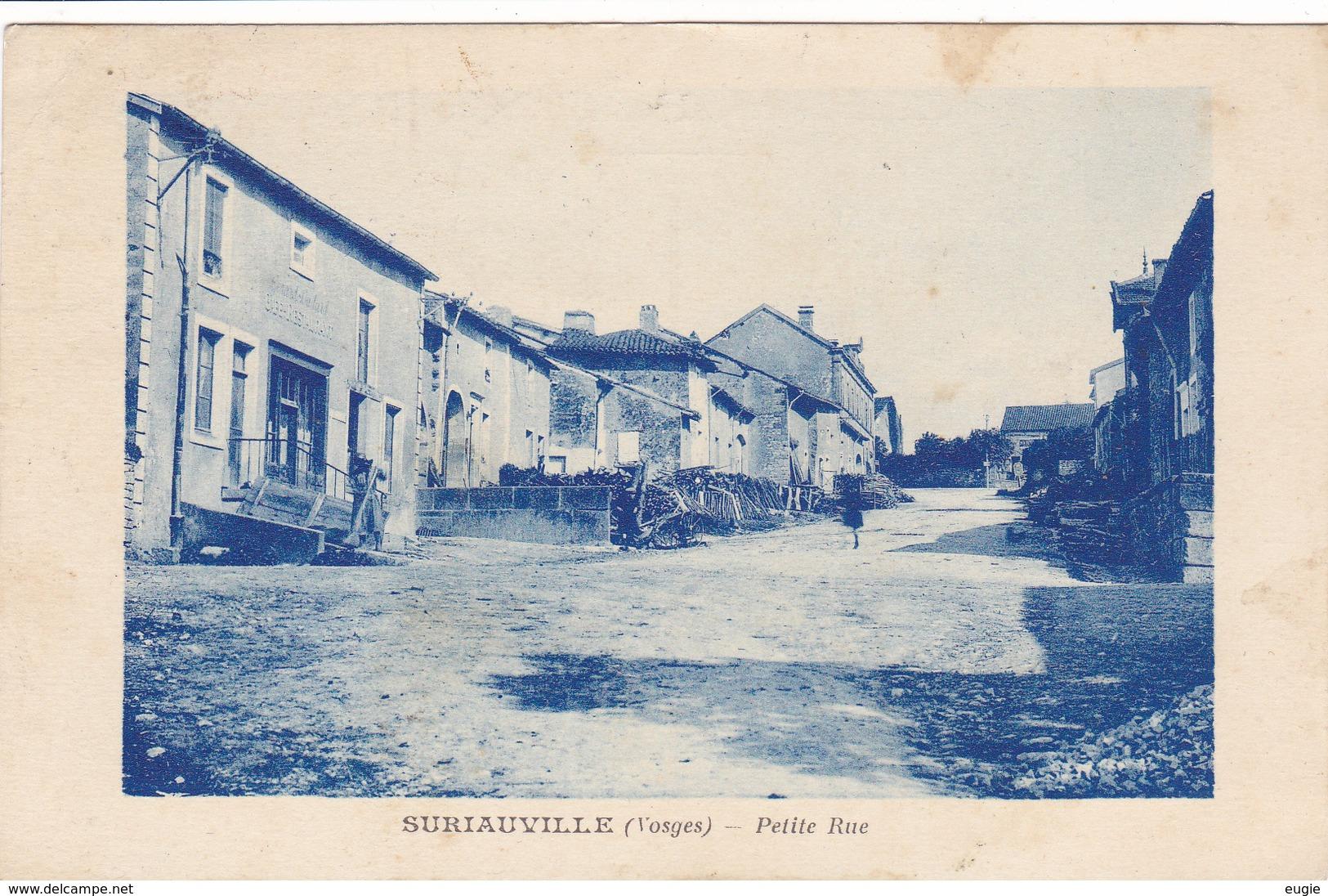 240/ Suriauville ( Vosges) Petite Rue 1926 - Frankrijk