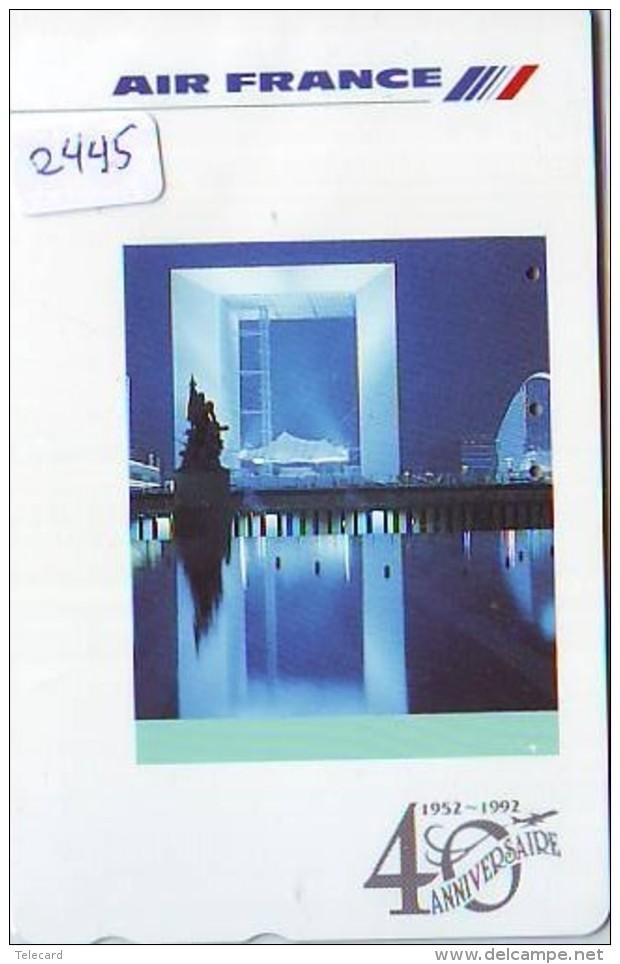 Télécarte  JAPON * AIR FRANCE (2445)  AVIATION * AIRLINE Phonecard  JAPAN AIRPLANE * FLUGZEUG - Avions