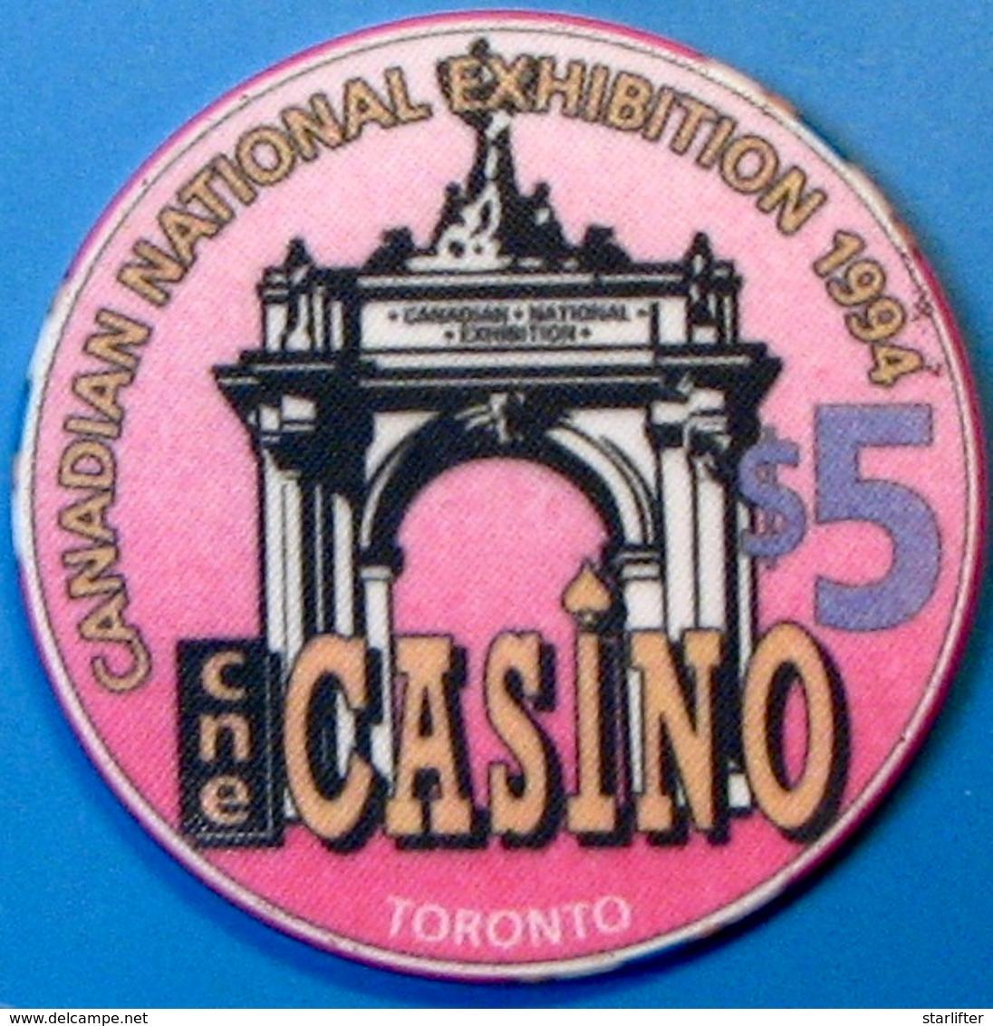$5 Casino Chip. CNE Casino, Ontario, Canada. M79. - Casino