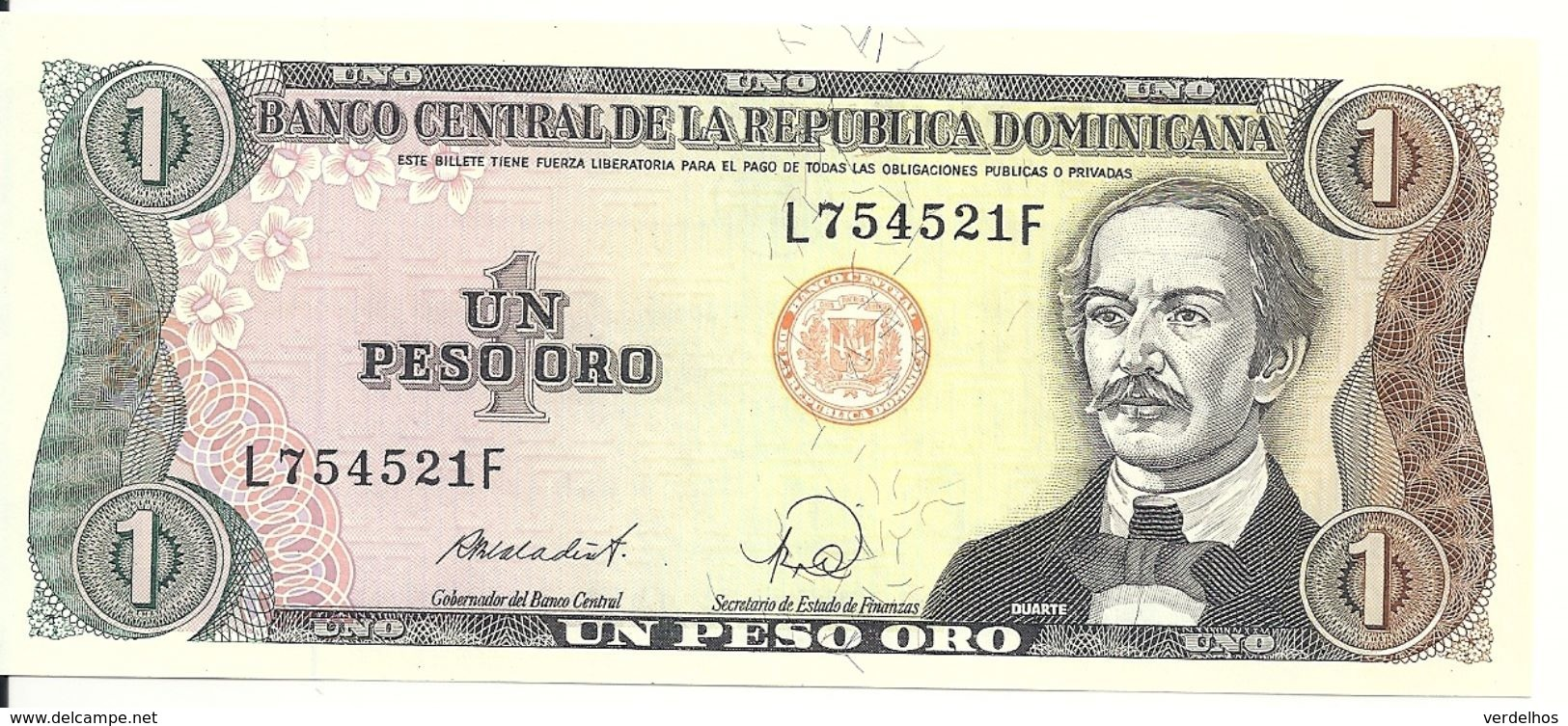REP. DOMINICAINE 1 PESO ORO 1988 UNC P 126 C - Dominicaine