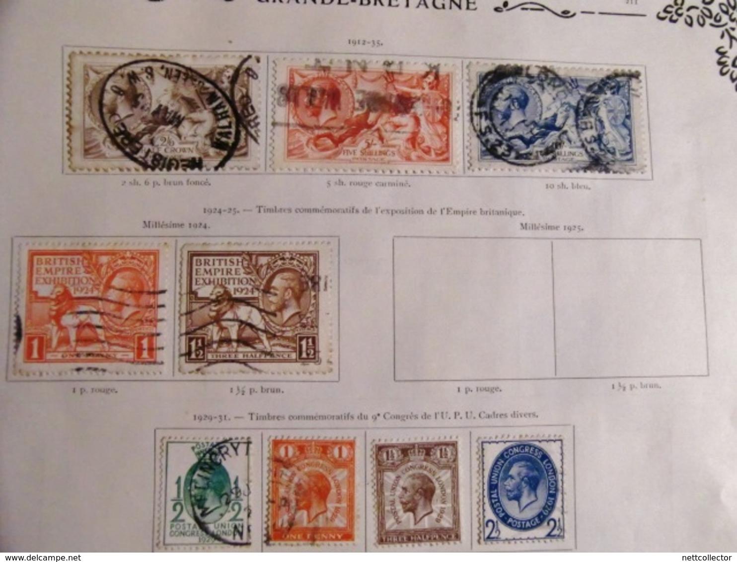 RARE COLLECTION CLASSIQUES EUROPE / ETATS ALLEMANDS /  GRANDE BRETAGNE / BELGIQUE /ITALIE ... - Autres - Europe
