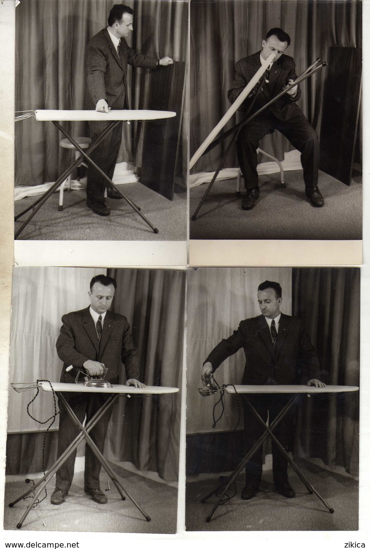 Advertising LOT - 10 Postcards - Ironing Board / Tavolo Da Stiro / Planche A Repasser / Bügelbrett / Eisen / Fer / Iron - Werbepostkarten