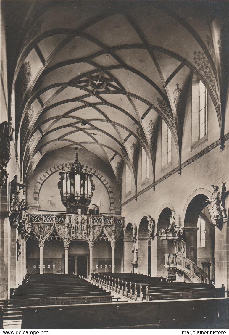 Köln - Carte Photo - St. Pantaleon. - Blick Ins Langhaus Nach Westen... Eugen Coubillier, Köln. N° KI 31 (1502/14) - Koeln