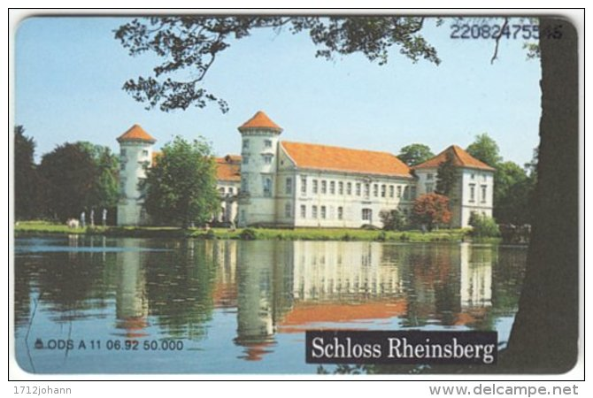 GERMANY A-Serie A-133 - 11 06.92 - Culture, Castle - Used - Deutschland