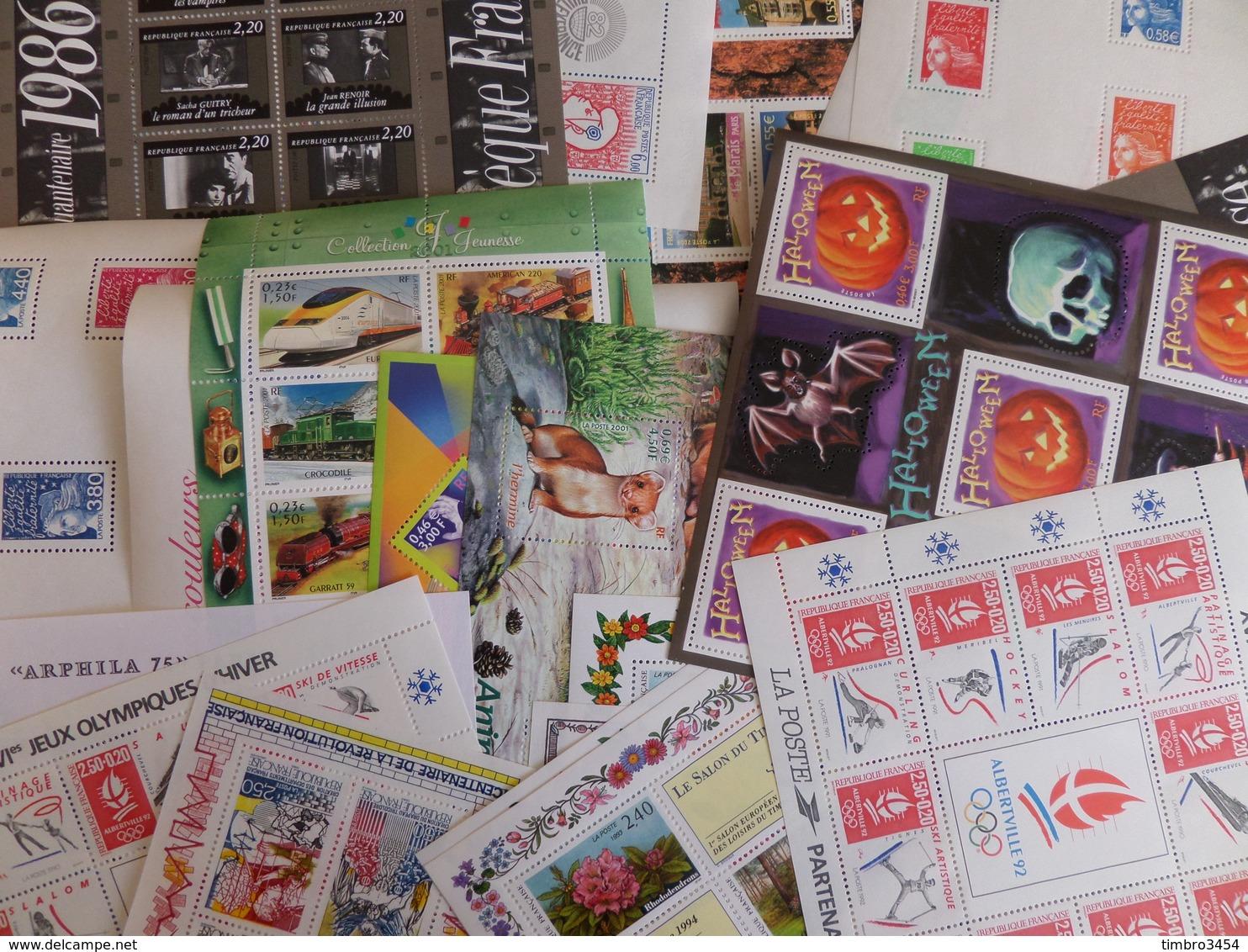 France Superbe Lot/collection De 150 Blocs-feuillets Neufs ** MNH 1975/2012. TB. A Saisir! - Sheetlets