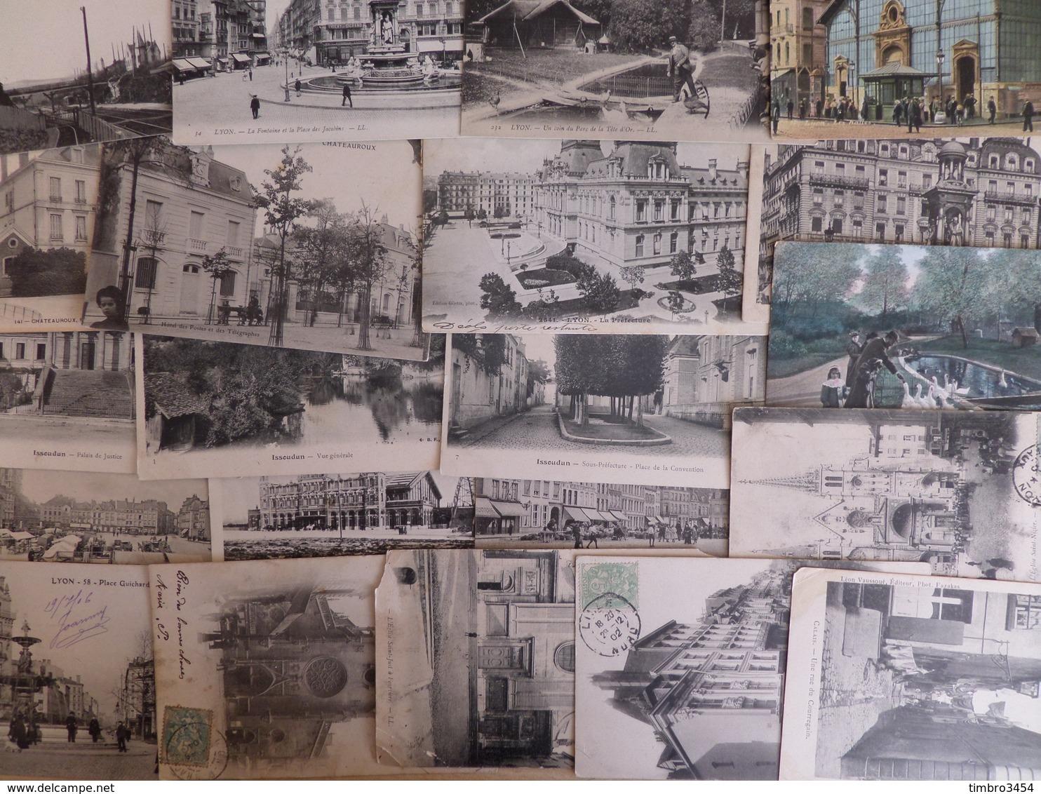 France Superbe Lot/vrac De + De 1000 Cartes Postales 1900/1915 Environ. Très Varié Avec De Bonnes Cartes! A Saisir! - Postcards