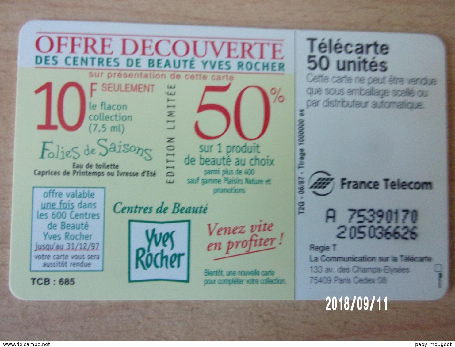 F742 Yves Rocher 97 50U SO3 T2G - Parfum