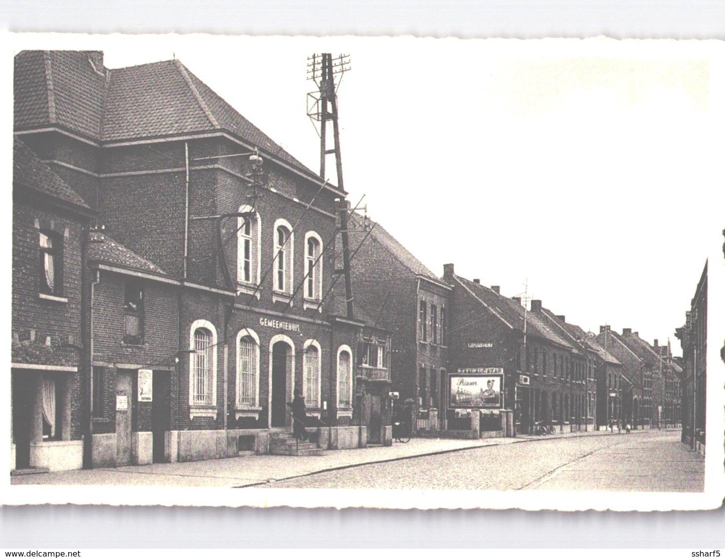 2 Stk. Kapelle-op-den-Bos FABRIEK ETERNIT + GEMEENTEHUIS ZAAL ALCAZAR 1930'ies - Kapelle-op-den-Bos