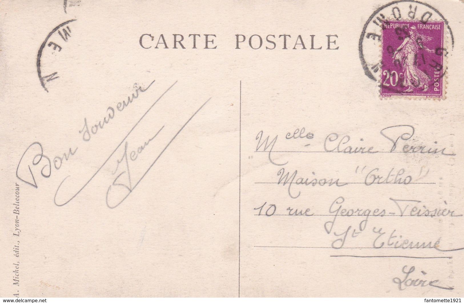 ABBAYE DE N.D. D'AIGUEBELLE  LE PREAU ET L'EGLISE (dil408) - France