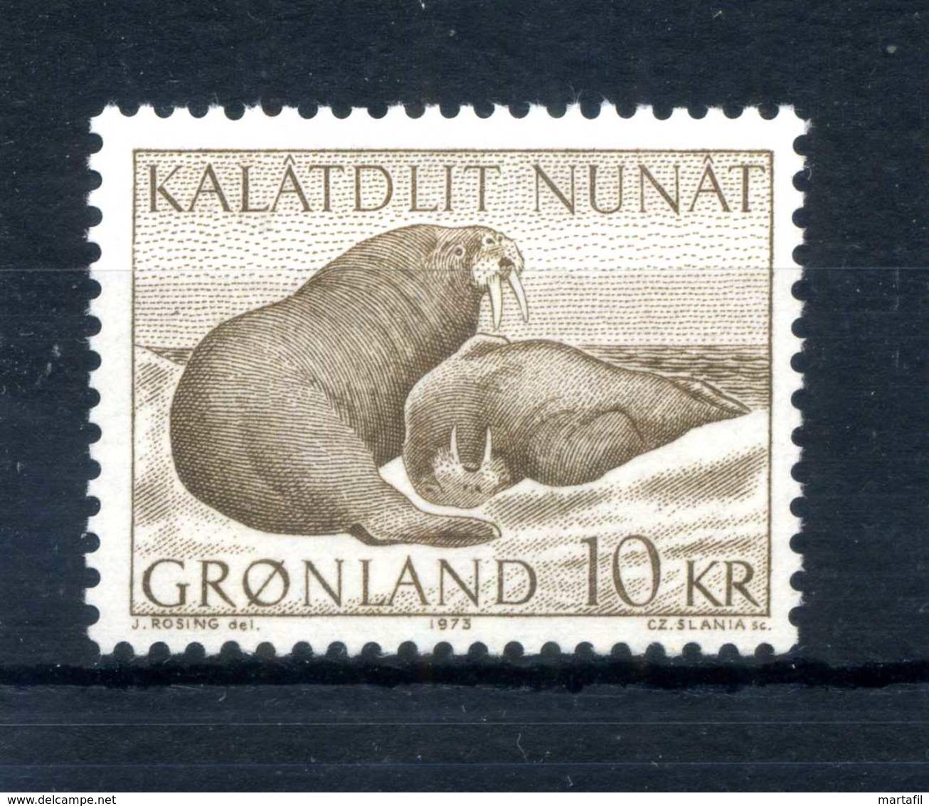 1973 GROENLANDIA SERIE COMPLETA MNH ** - Nuovi