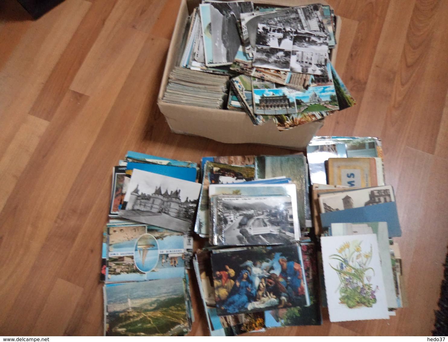 2200 Cartes Environs France & Etranger - Années 1960/1980 - TB Lot - Cartes Postales