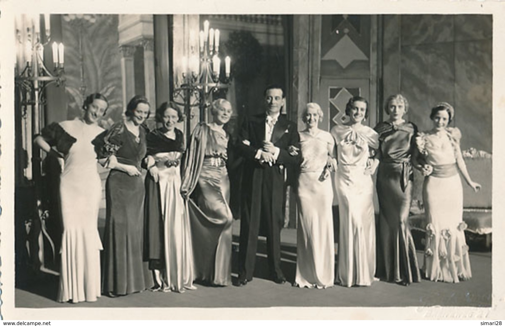 MAGDEBURG - CARTE PHOTO - CENTRAL THEATER - ACTEURS D'UNE PIECE - Magdeburg