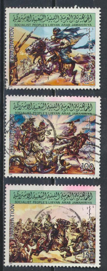 °°° LIBIA LIBYA - YT 1728/30 - 1986 °°° - Libia