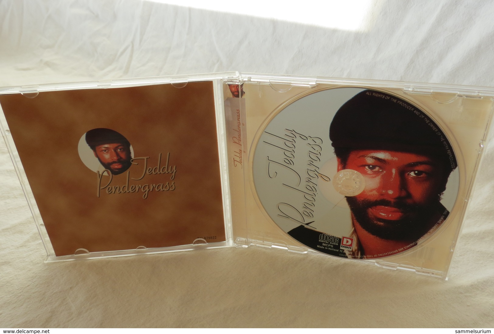 """CD """"Teddy Pendergrass"""" A Touch Of Class - Sonstige"""
