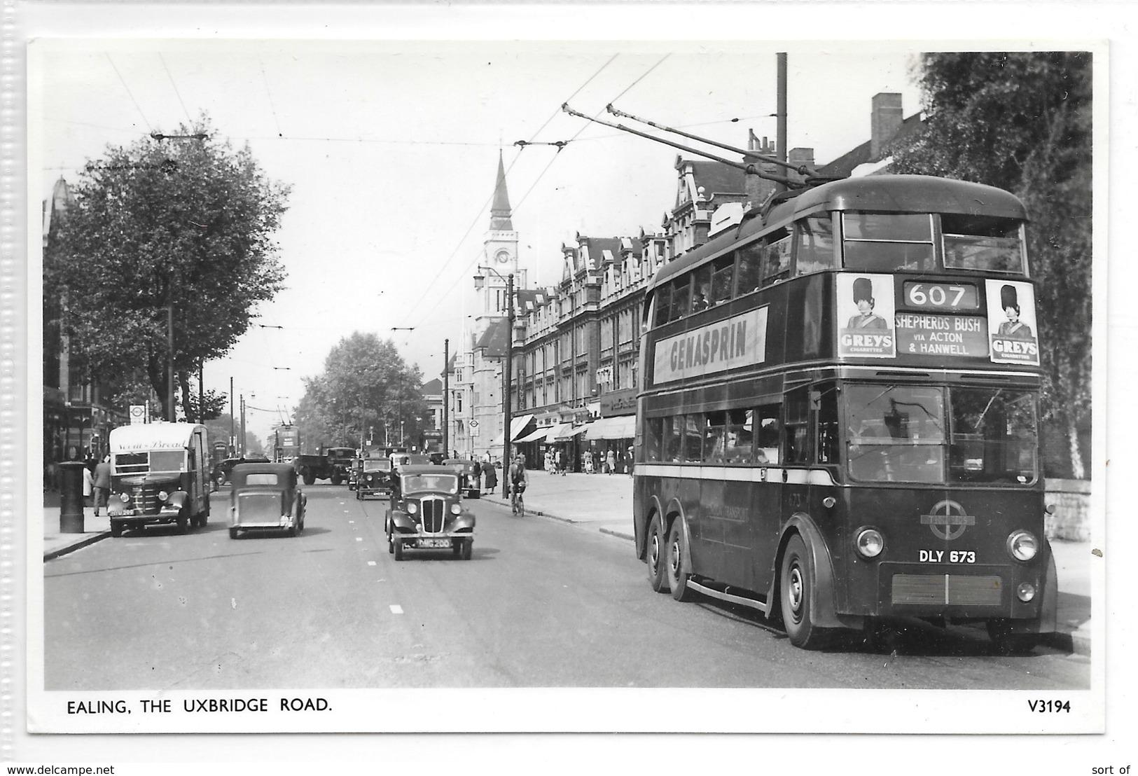 RP - EALING - THE UXBRIDGE ROAD - S930 - London Suburbs