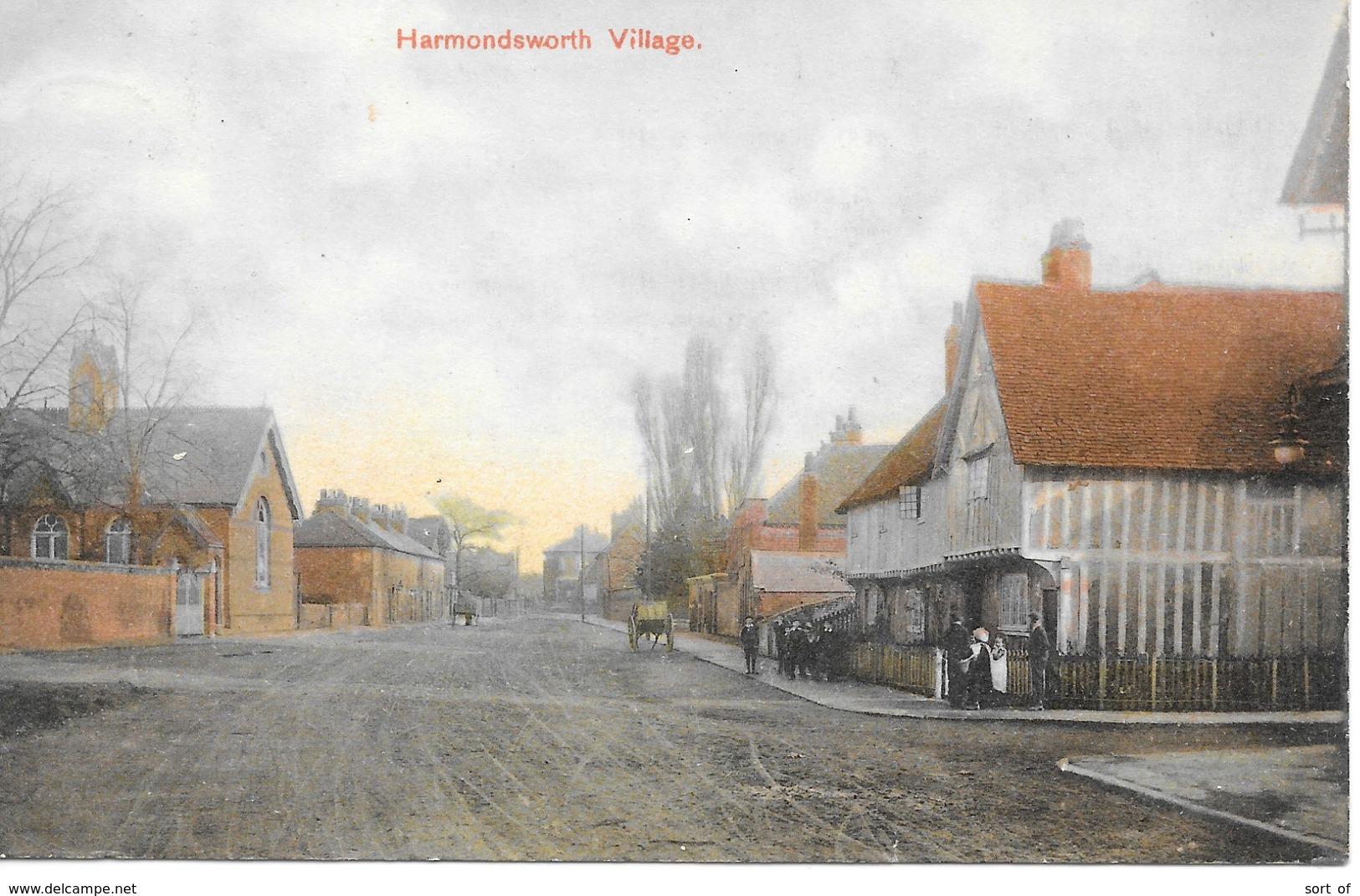 HARMONDSWORTH- THE VILLAGE -  -  S937 - London Suburbs