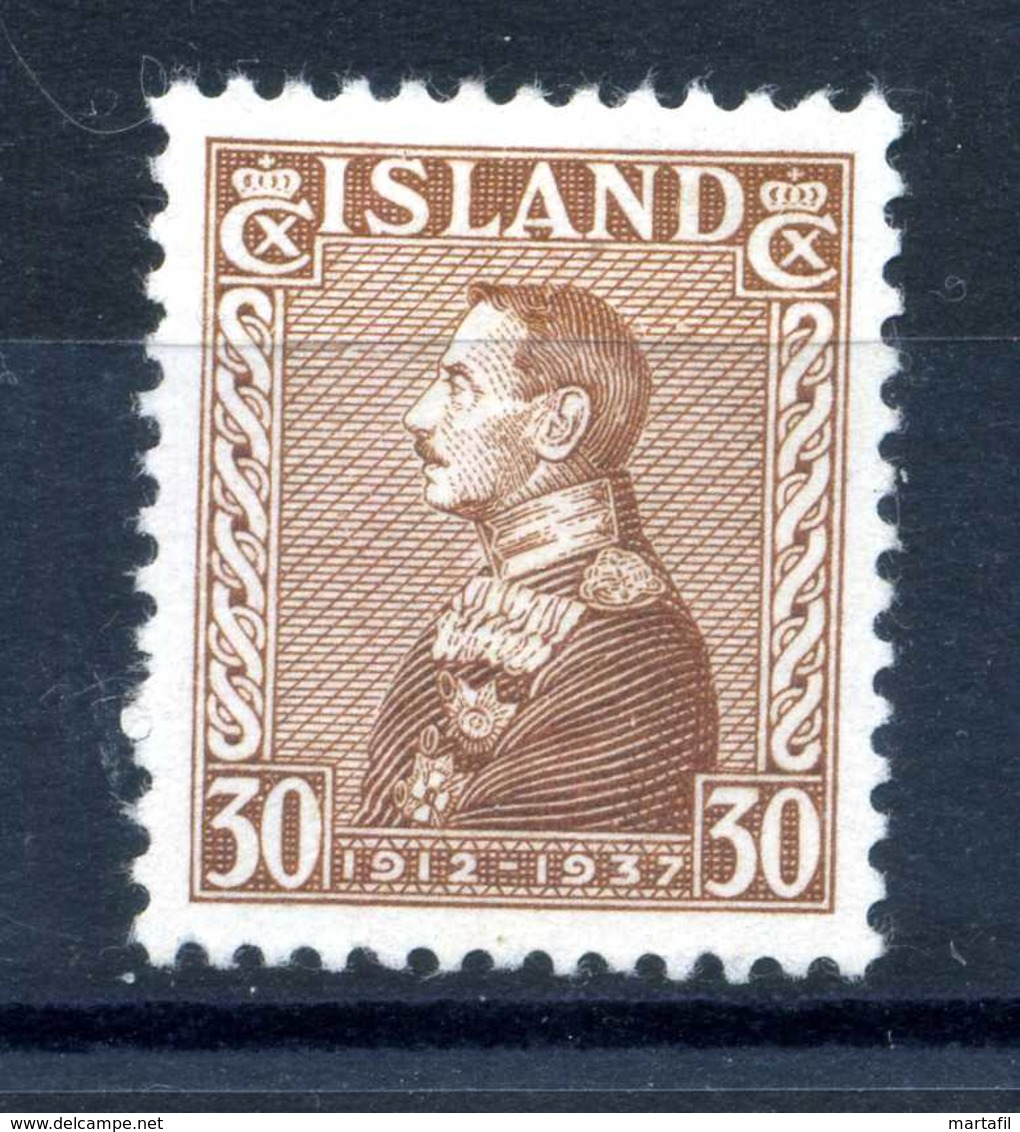 1937 ISLANDA N.165 * - Nuovi