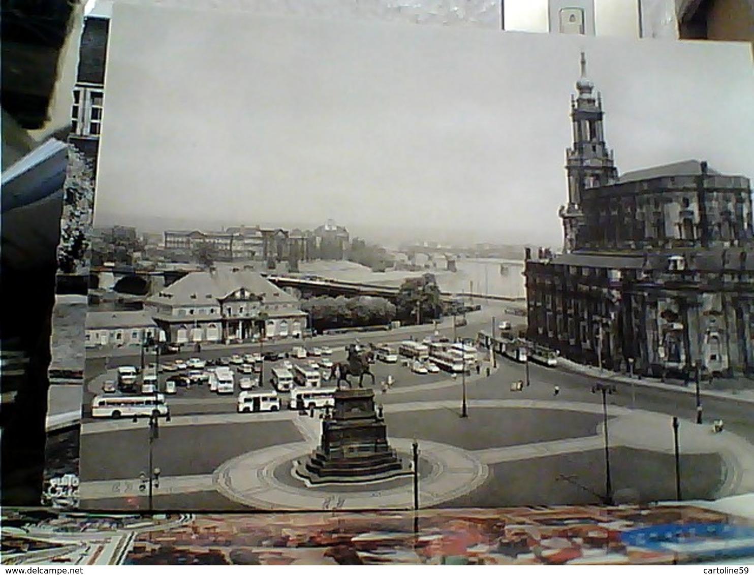GERMANY  Dresden - THEATER PLATZ   N1965 GU3428 - Dresden