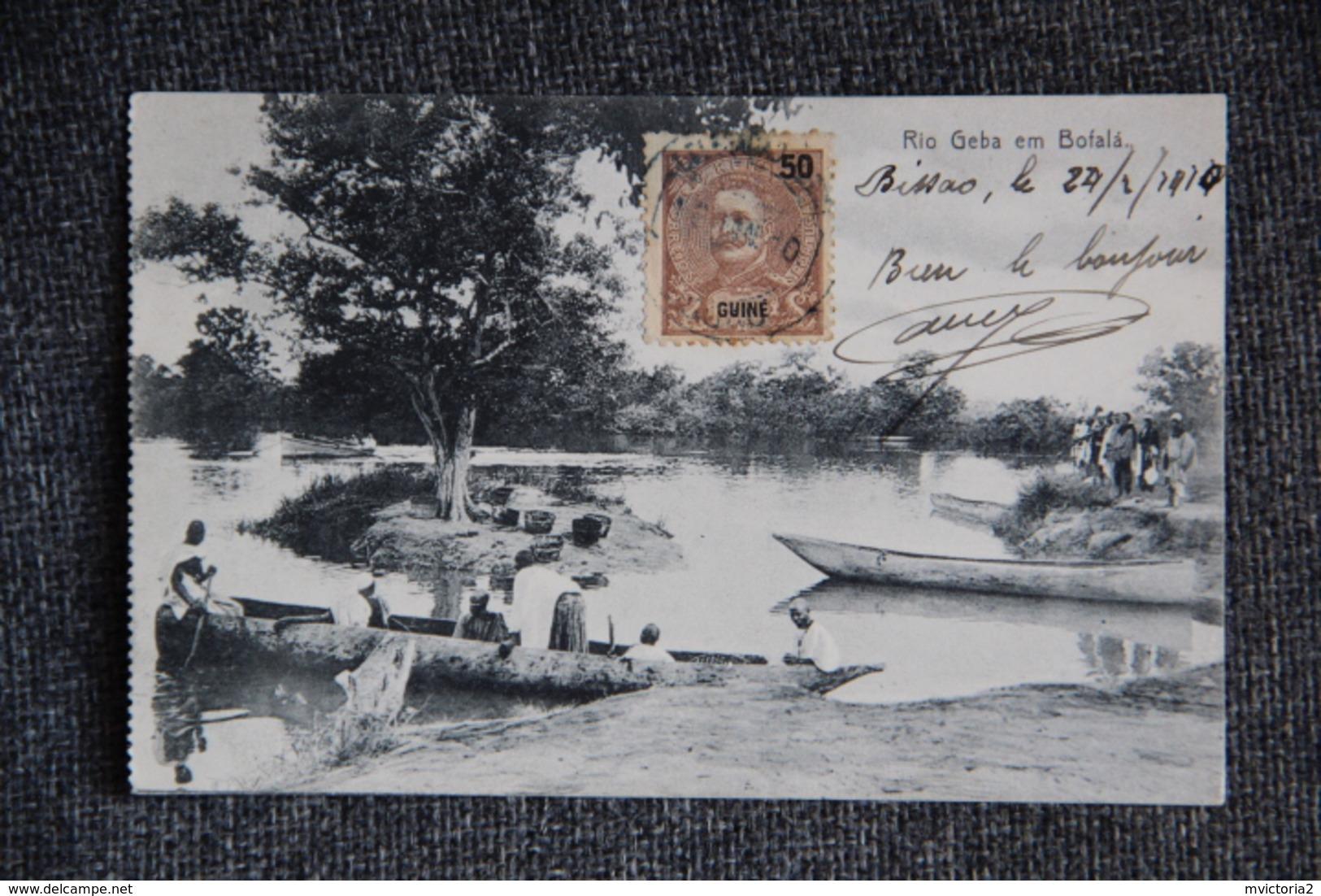 GUINEE BISSAU , Rio Geba Em Bofala - Guinea Bissau