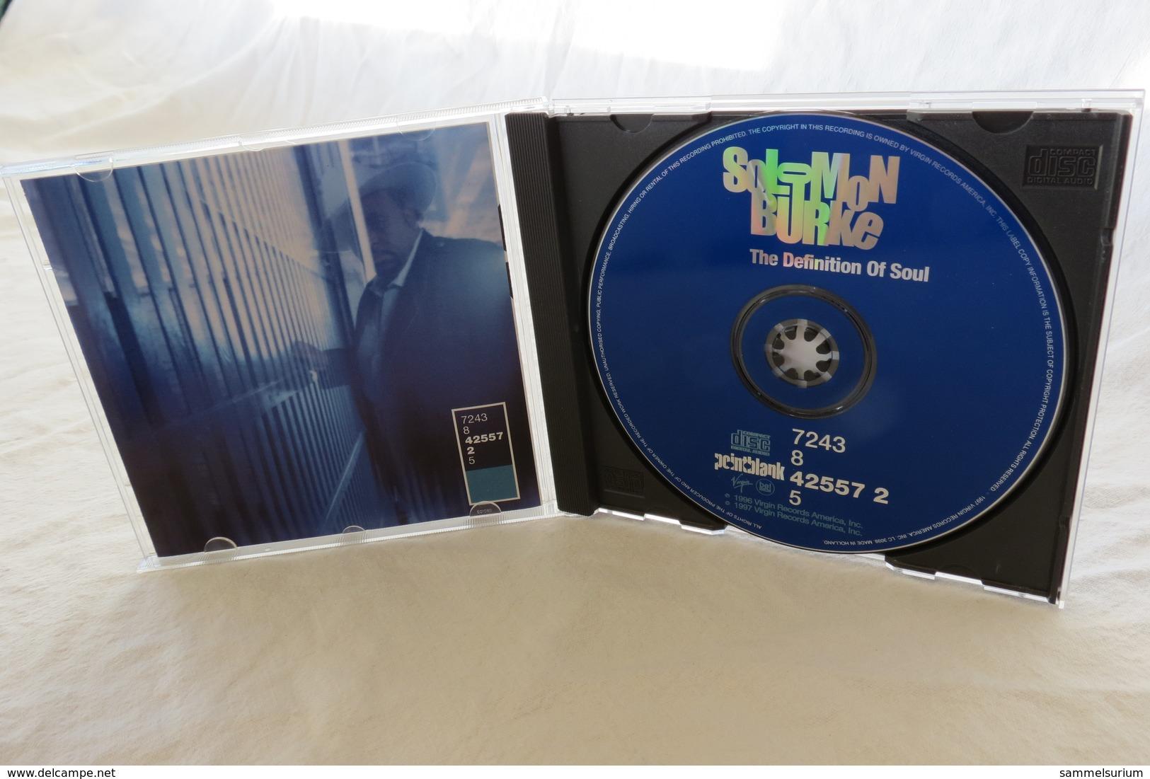 "CD ""Solomon Burke"" The Definition Of Soul - Soul - R&B"