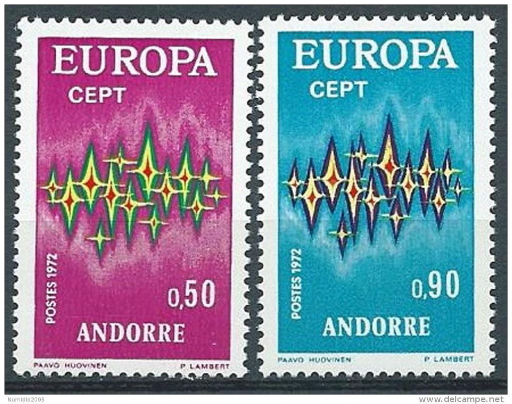 1972 EUROPA ANDORRA FRANCESE MNH ** - EV - Europa-CEPT