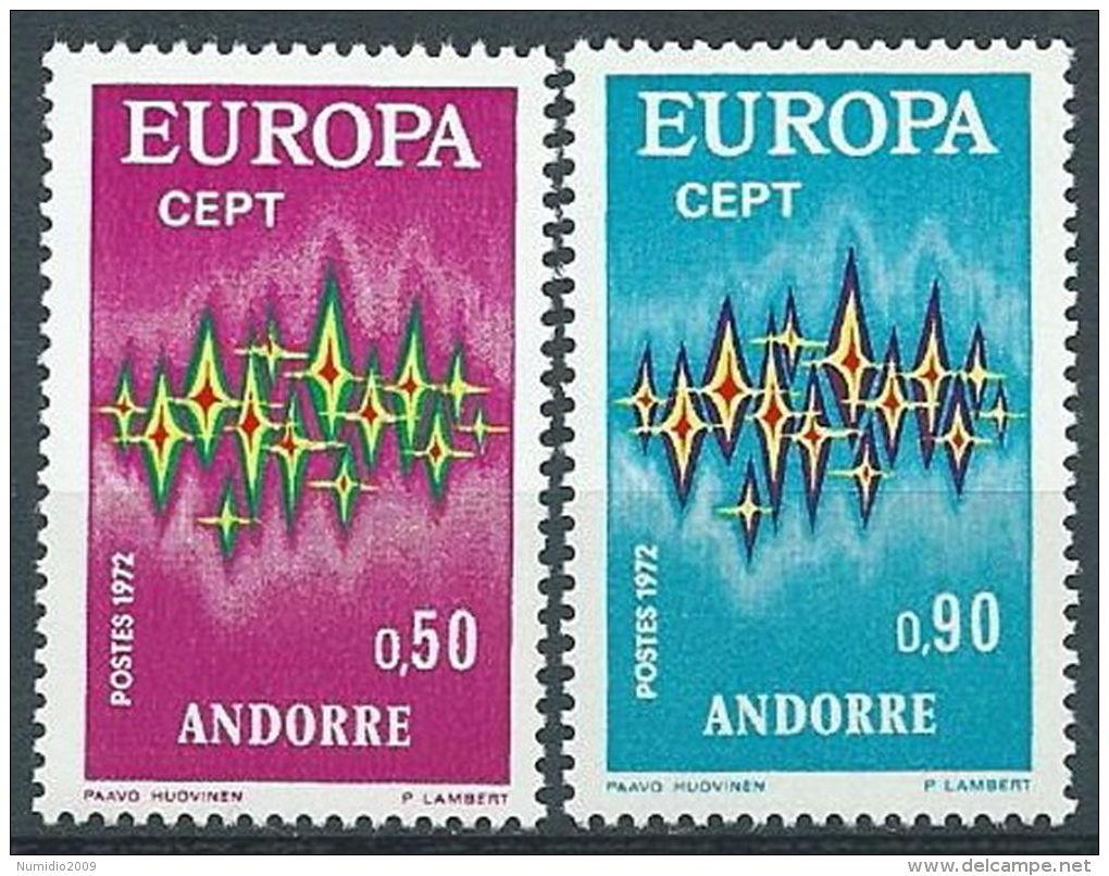 1972 EUROPA ANDORRA FRANCESE MNH ** - EV-3 - 1972