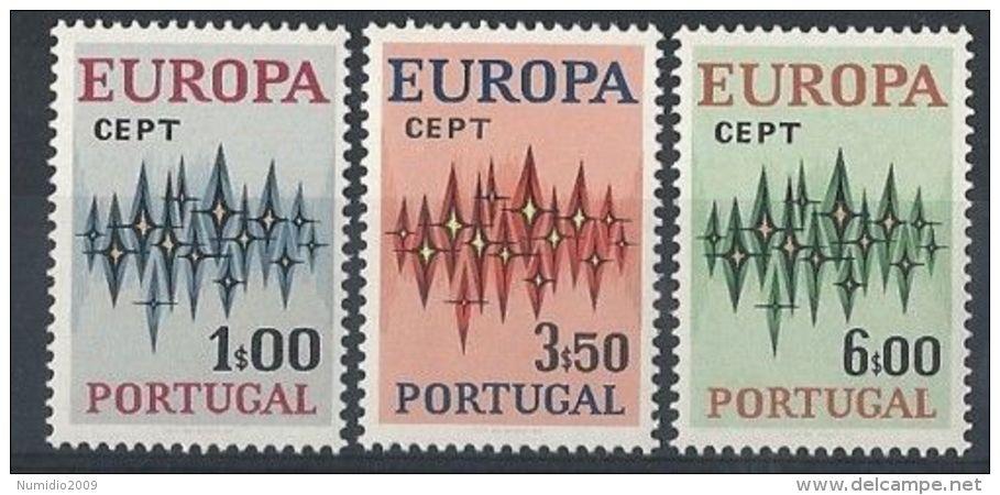 1972 EUROPA PORTOGALLO MNH ** - EU049 - Europa-CEPT