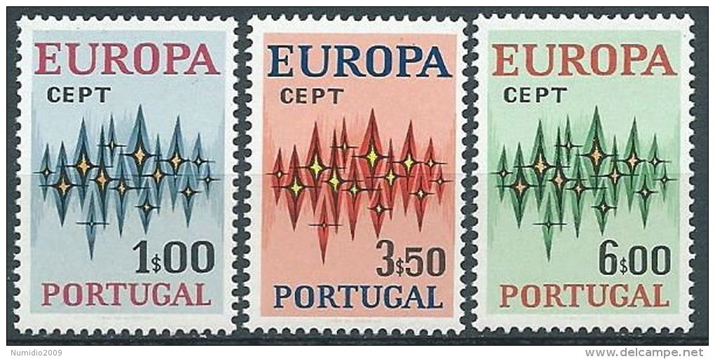 1972 EUROPA PORTOGALLO MNH ** - EV - Europa-CEPT