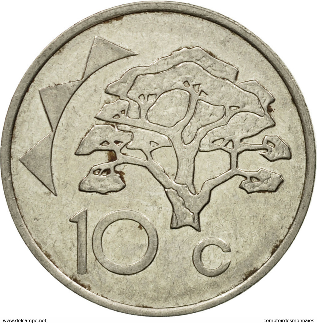 Monnaie, Namibia, 10 Cents, 1996, Vantaa, TTB, Nickel Plated Steel, KM:2 - Namibie