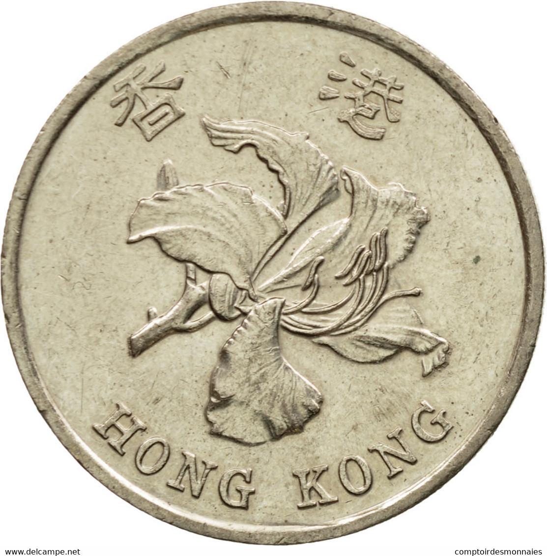 Monnaie, Hong Kong, Elizabeth II, Dollar, 1998, TTB, Copper-nickel, KM:69a - Hong Kong
