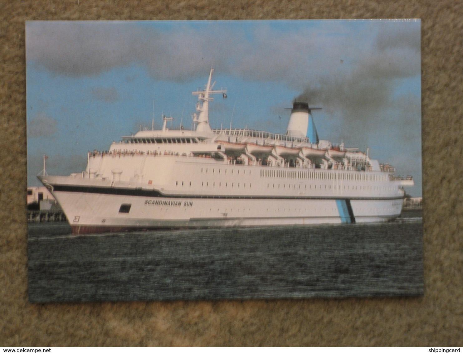 DFDS SCANDINAVIAN SUN - Ferries