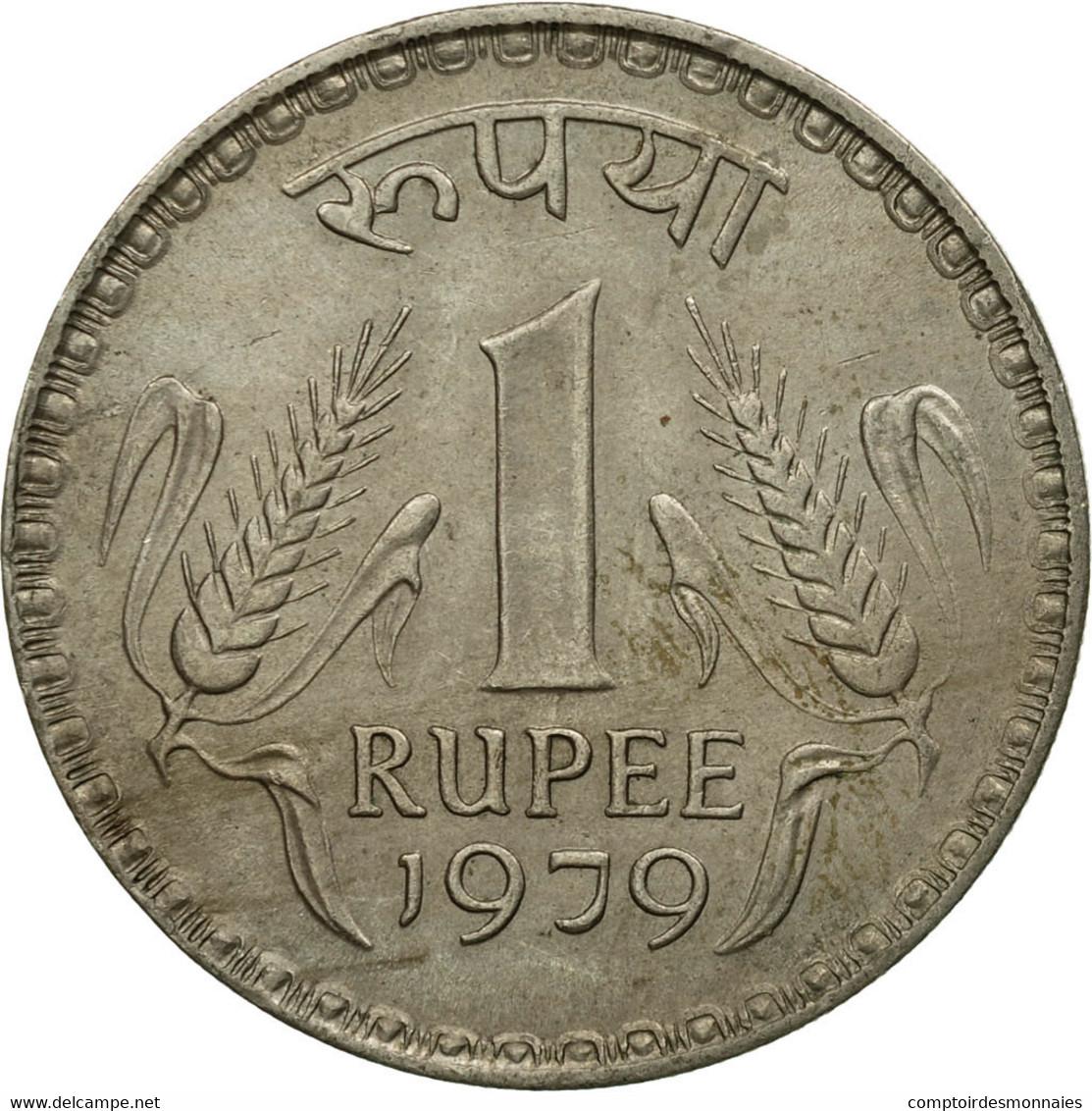 Monnaie, INDIA-REPUBLIC, Rupee, 1979, TTB, Copper-nickel, KM:78.3 - Inde