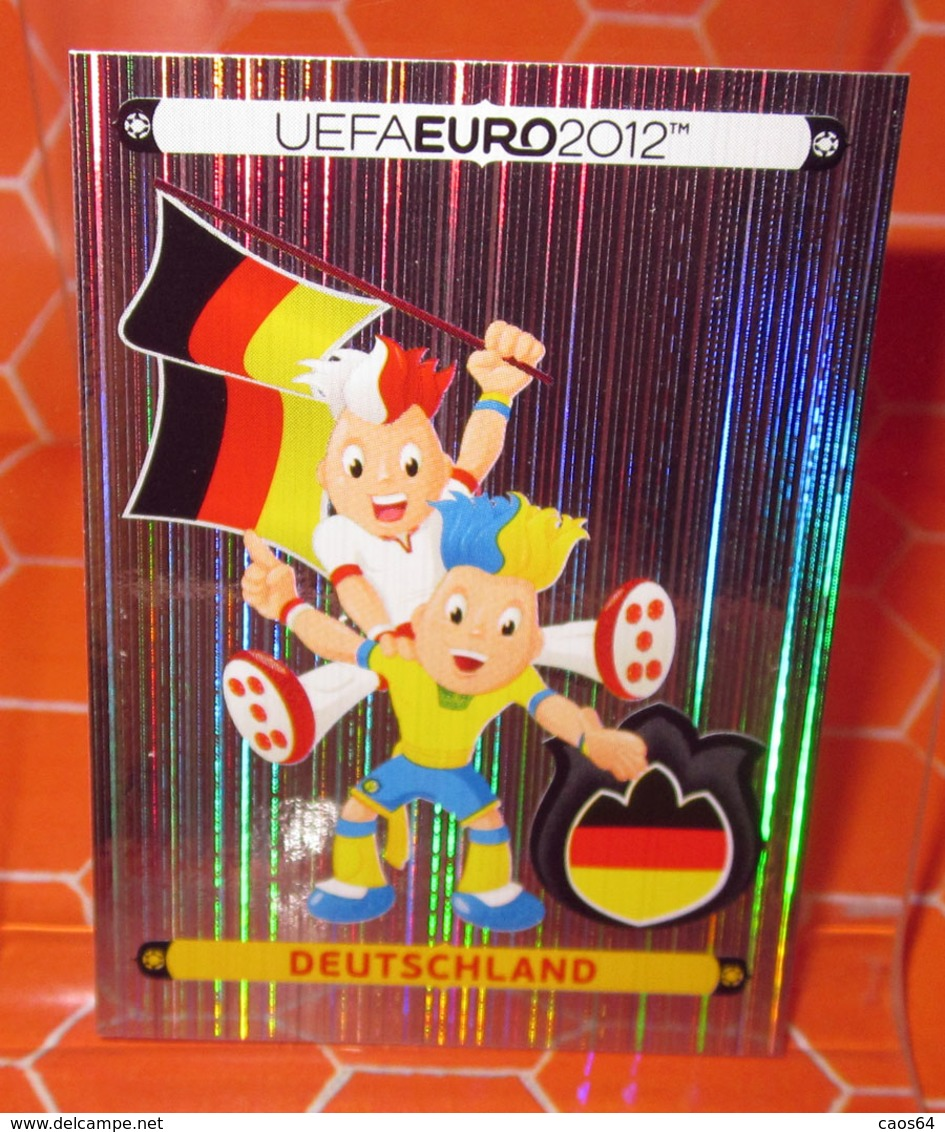 EURO 2012 POLAND-UKRAINE PANINI N. 223 DEUTSCHLAND  NEW NUOVA CON VELINA - Edizione Italiana