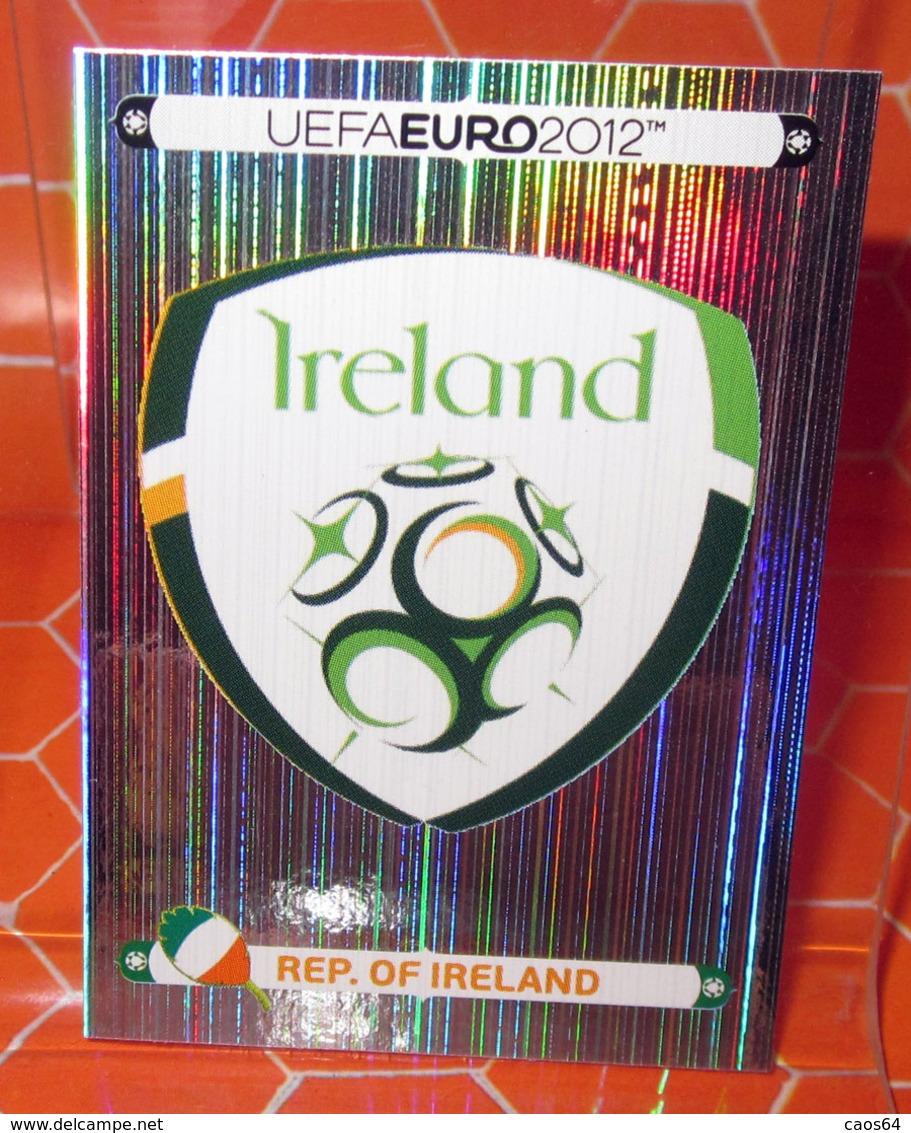 EURO 2012 POLAND-UKRAINE PANINI N. 340 IRELAND  NEW NUOVA CON VELINA - Panini
