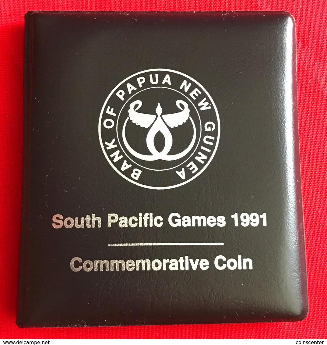 "Papua New Guinea 50 Toea 1991 ""South Pacific Games"" In Kit UNC - Papouasie-Nouvelle-Guinée"