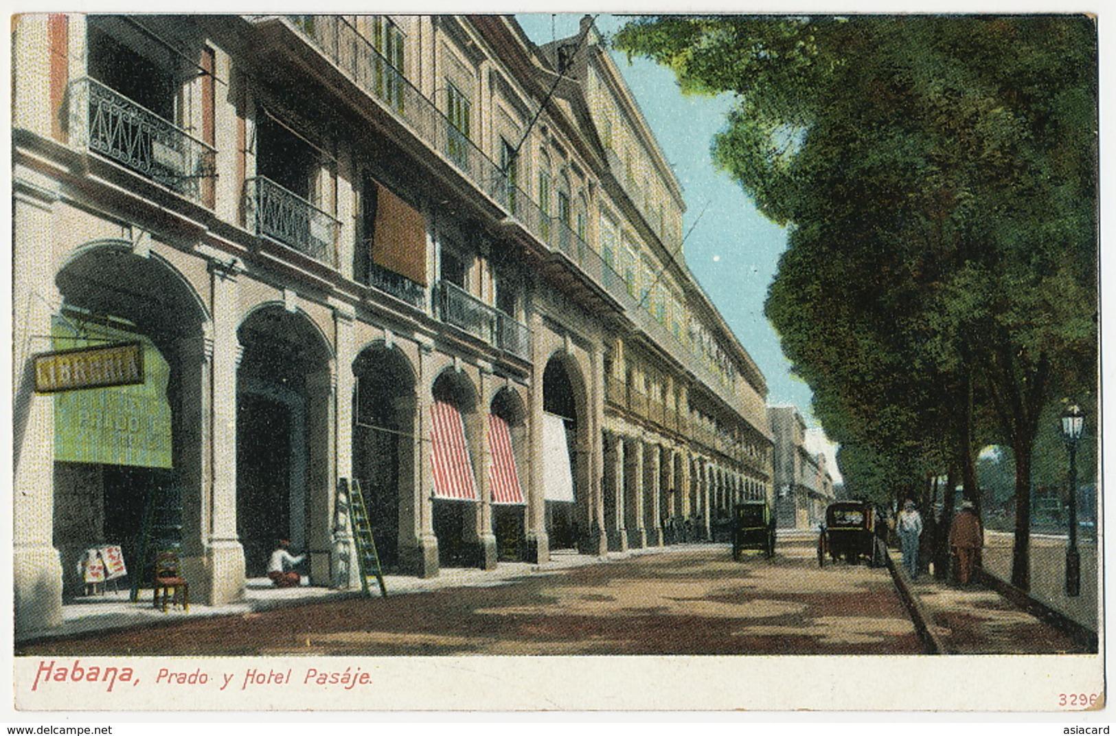 Habana Prado Y Hotel Pasaje Libreria La Poesia A La Izquierda - Cuba