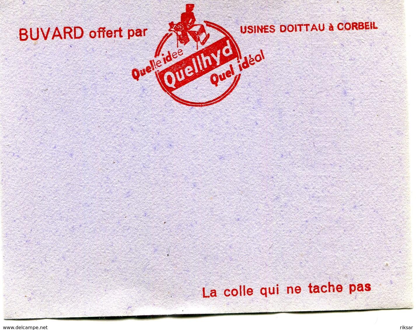 BUVARD(USINE DOITTAU) CORBEIL - Buvards, Protège-cahiers Illustrés