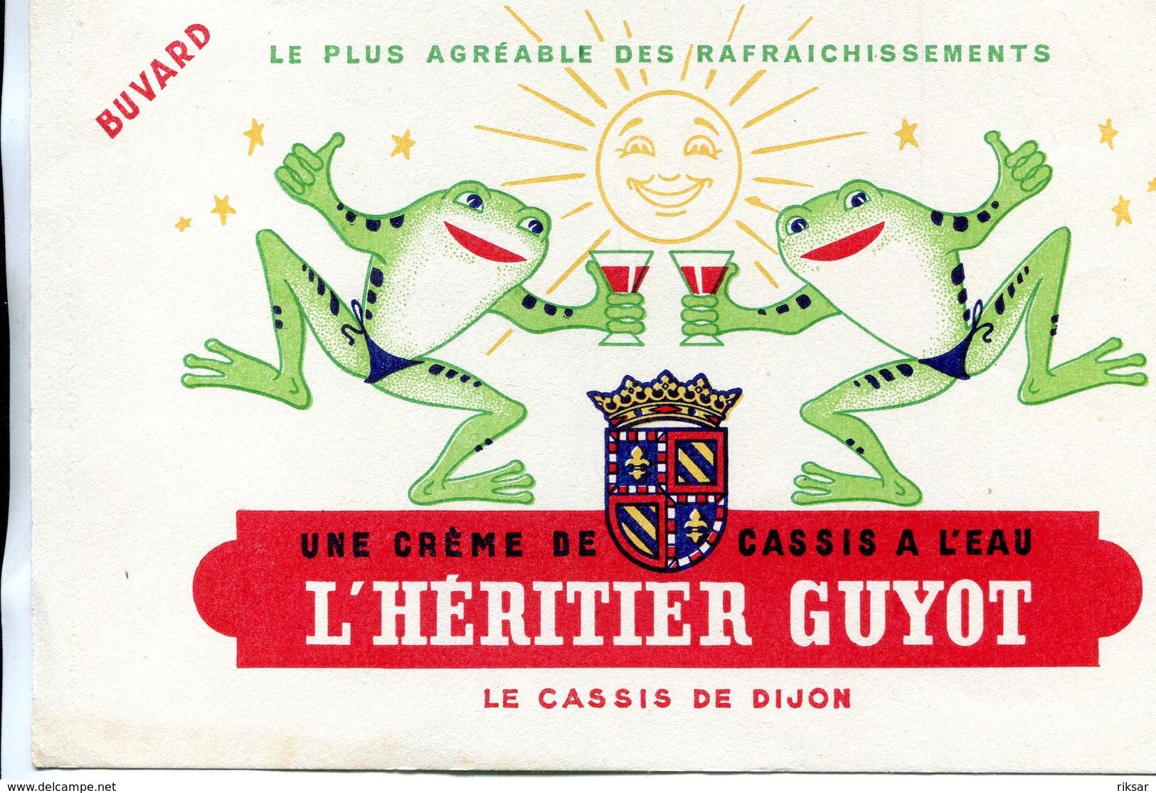 BUVARD(CREME DE CASSIS HERITIER GUYOT) GRENOUILLE - C