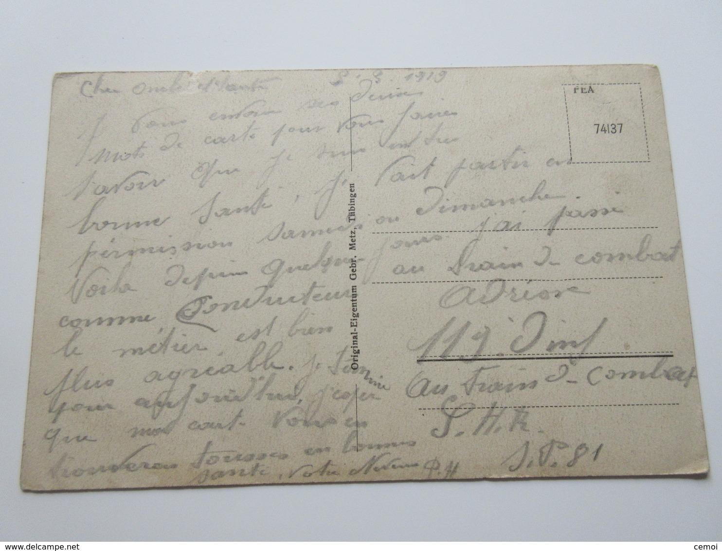 CPA - ZWEIBRÜCKEN - Partie Mit Bezirkskommando - 1919 - Zweibruecken
