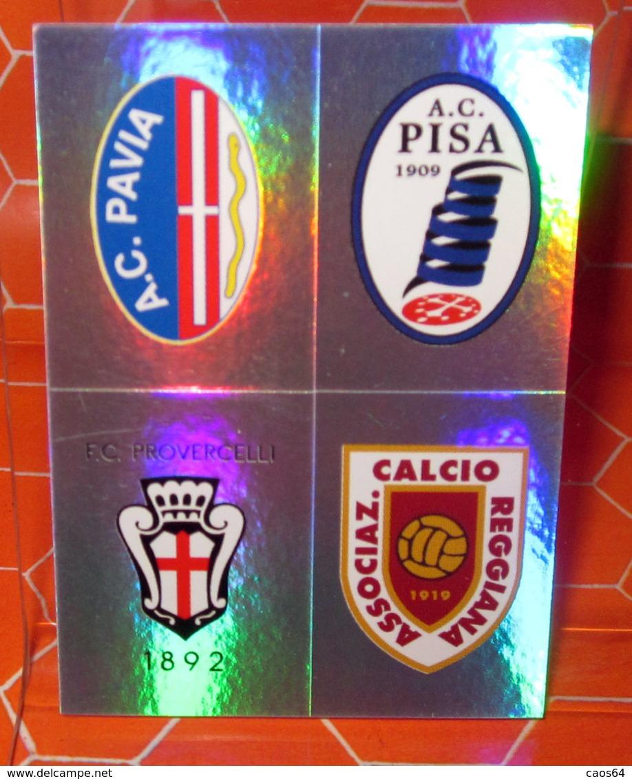 CALCIATORI 2011-2012 N. 653 PAVIA - PISA - REGGIANA - PRO VERCELLI  NEW NUOVA CON VELINA - Panini