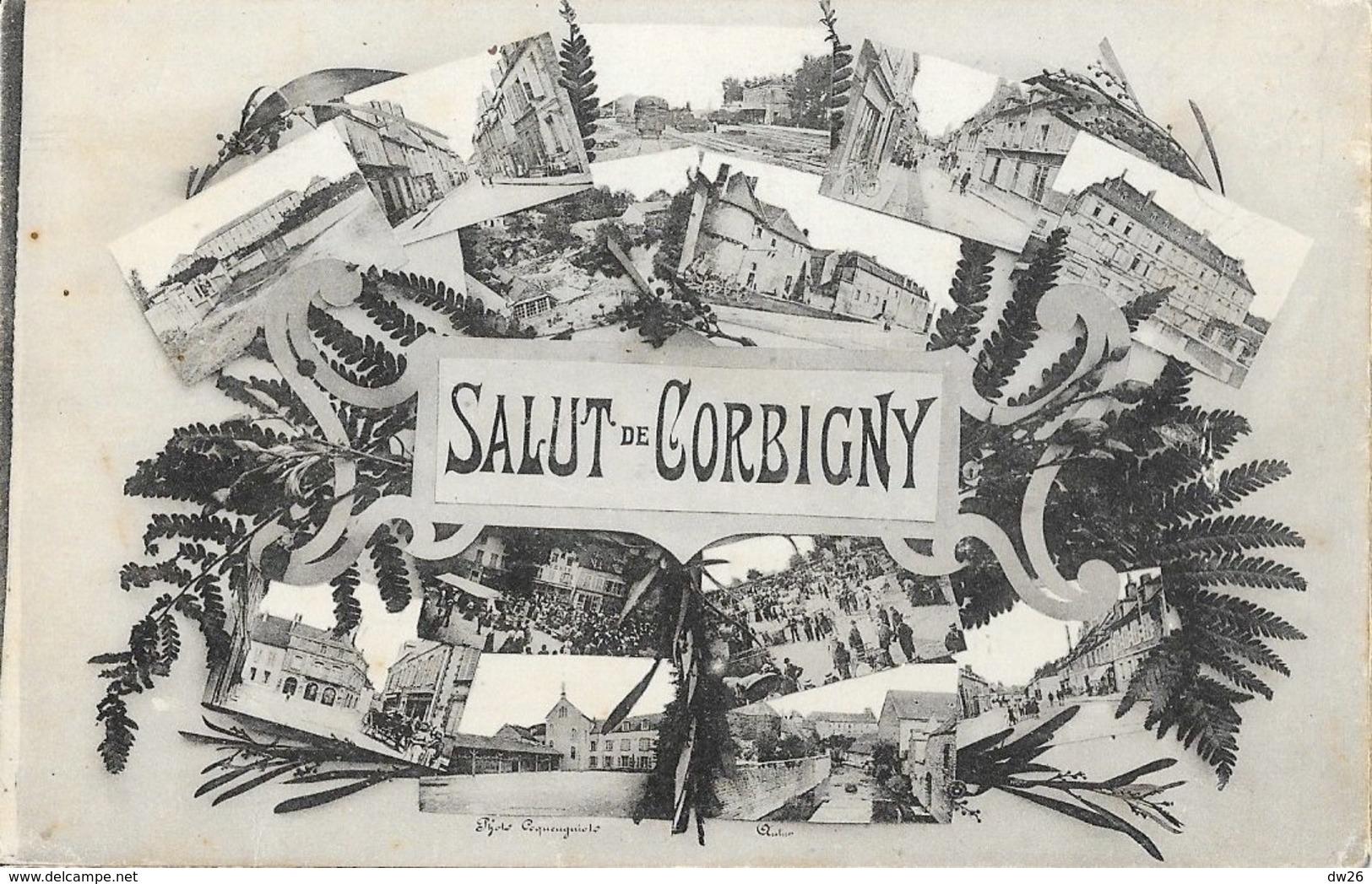 Souvenir De - Salut De Corbigny (Nièvre) - Multivues - Souvenir De...