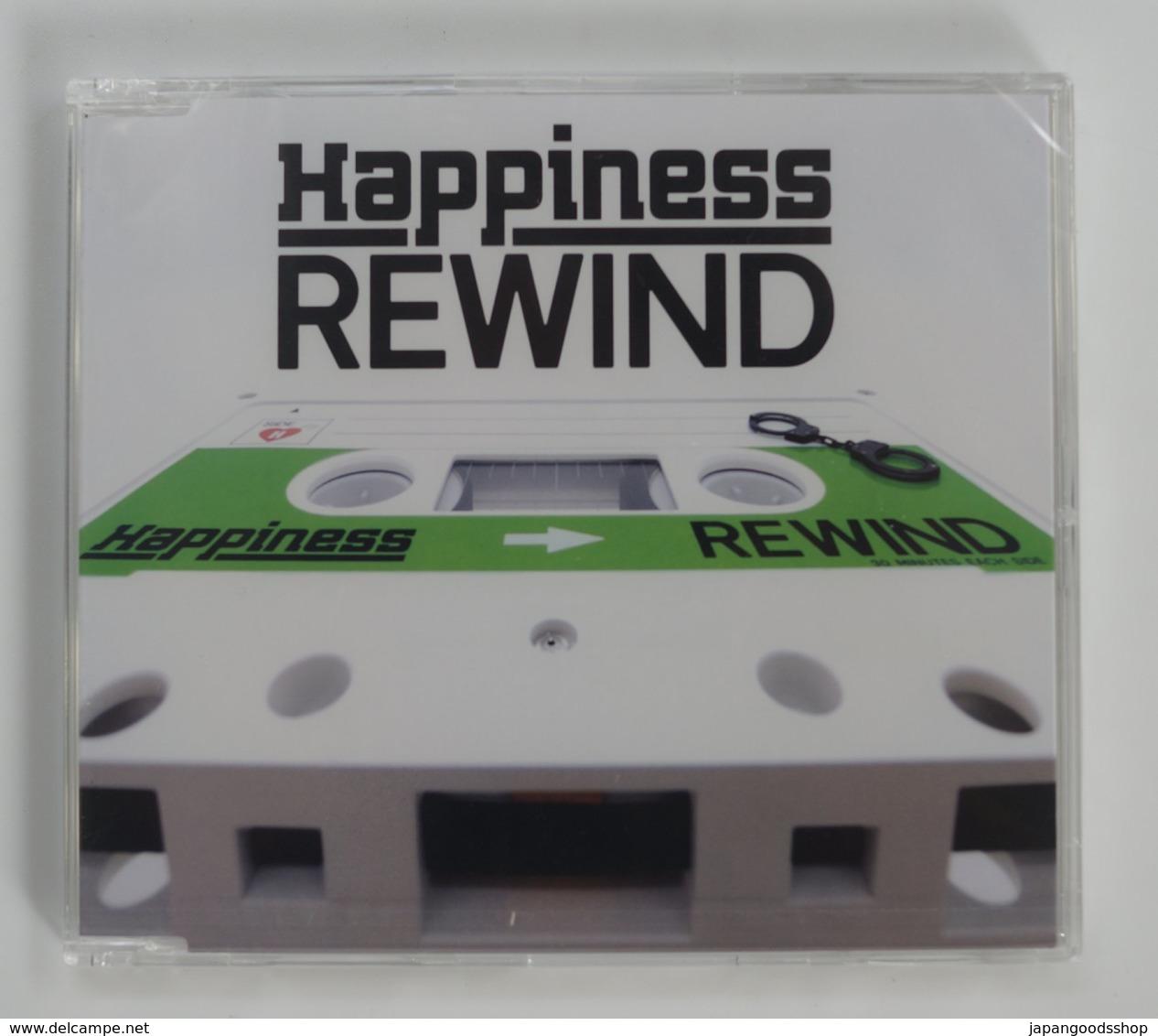 CD : Happiness Rewind ( RZC1-86243 Rythm Zone 2017 ) - Disco, Pop