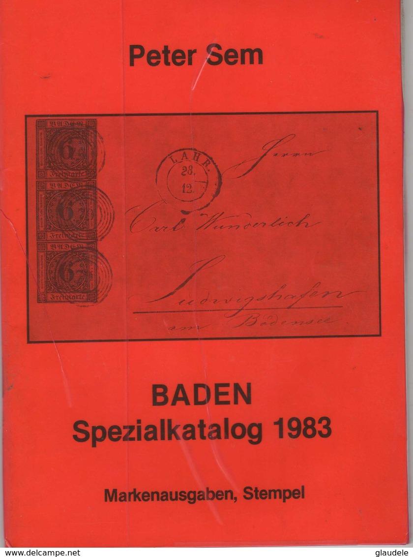 Catalogue  Specialisée    :           Peter  Sem Baden - Germania
