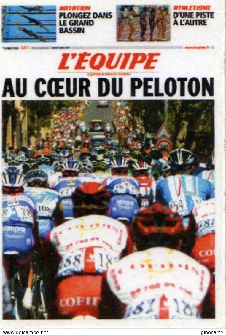 Magnets Magnet Journal L'equipe Tour De France - Sports