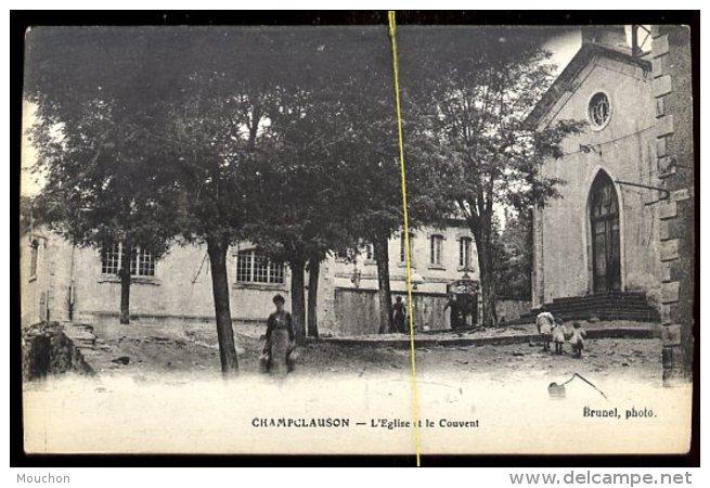 Champclauson:  L'église Et Le Couvent - Autres Communes