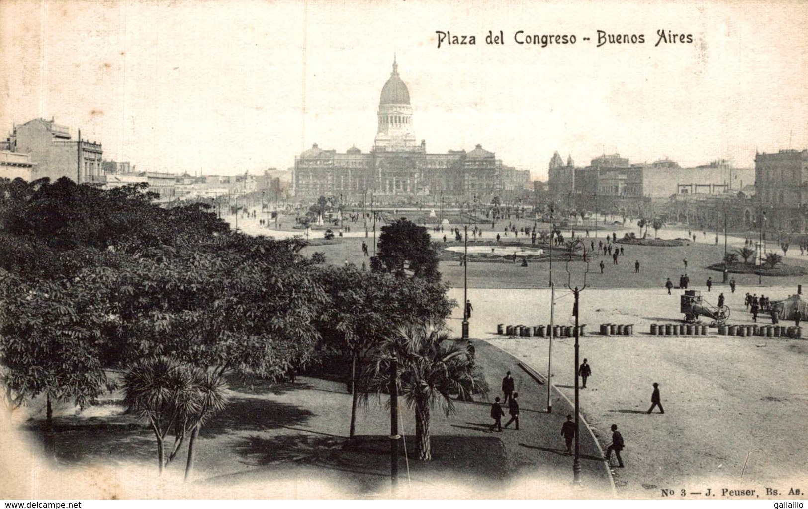 ARGENTINE BUENOS AIRES PLAZA DEL CONGRESO - Argentine