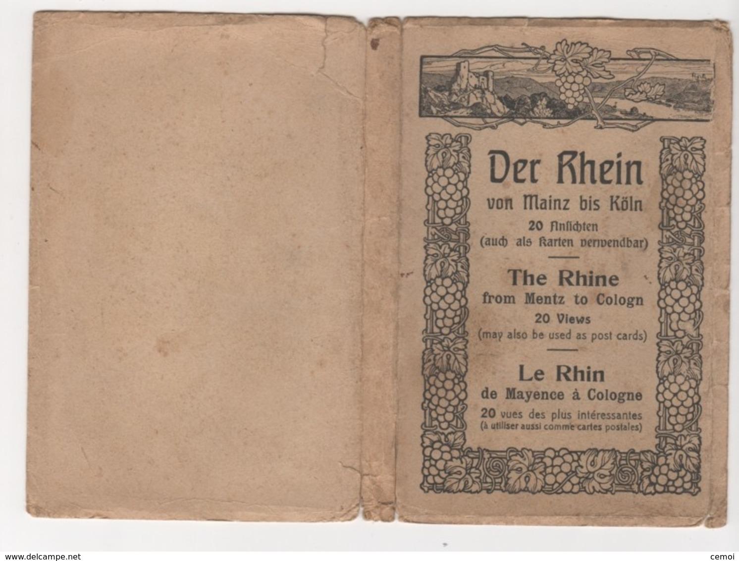 Carnet De 20 CPA - Der RHEIN Von Mainz Bis Köln - Otros