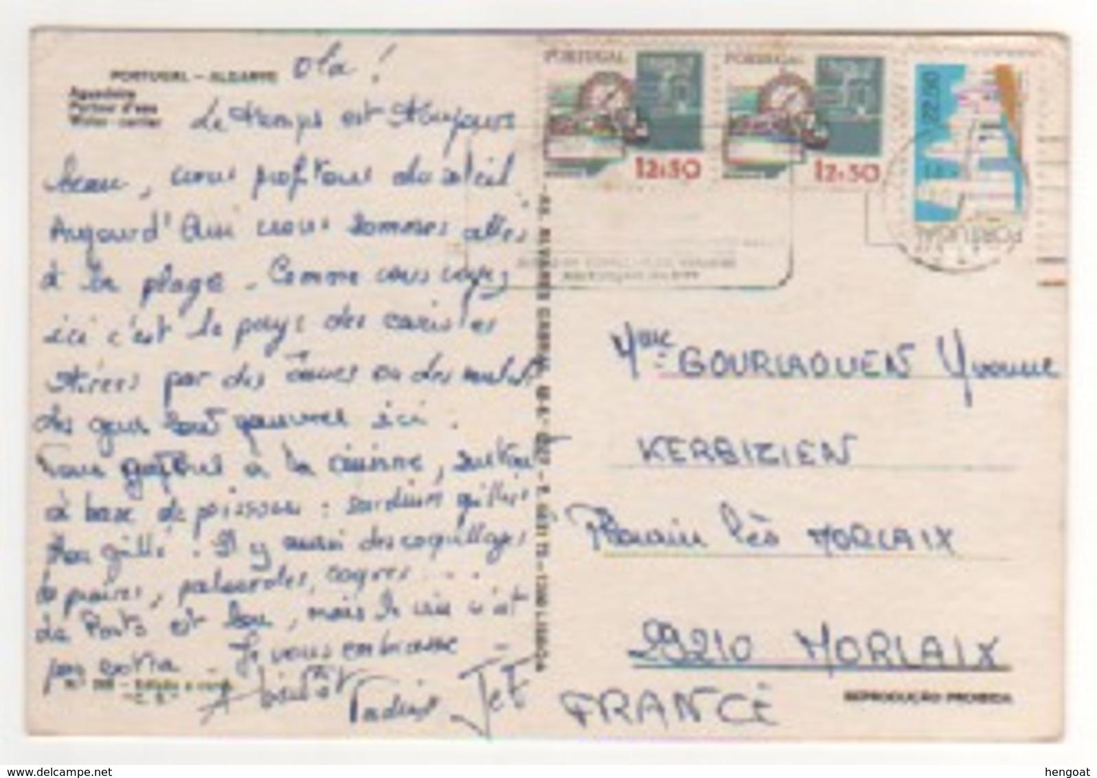 Timbres , Stamps  Sur Cp , Carte , Postcard Du 14/07/1980 - Lettres & Documents